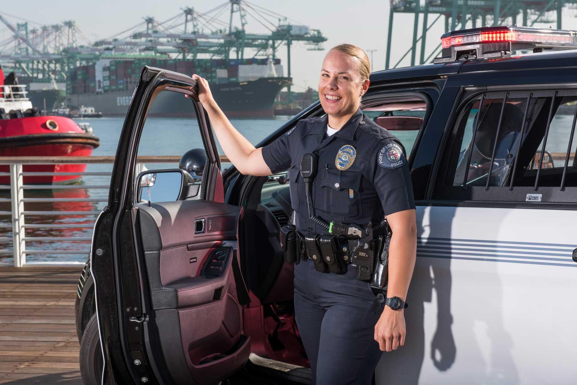 Port Police on patrol