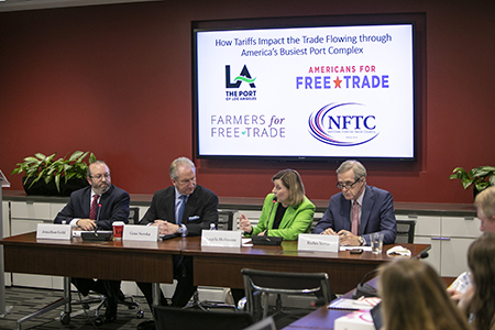 News Conference: Port of Los Angeles Releases Study on Impacts of Tariffs