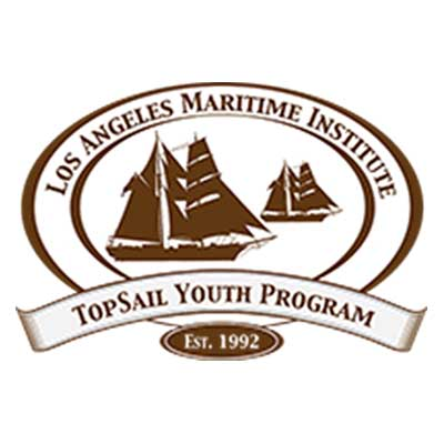 Los Angeles Maritime Institute (LAMI) TopSail Youth Program Logo