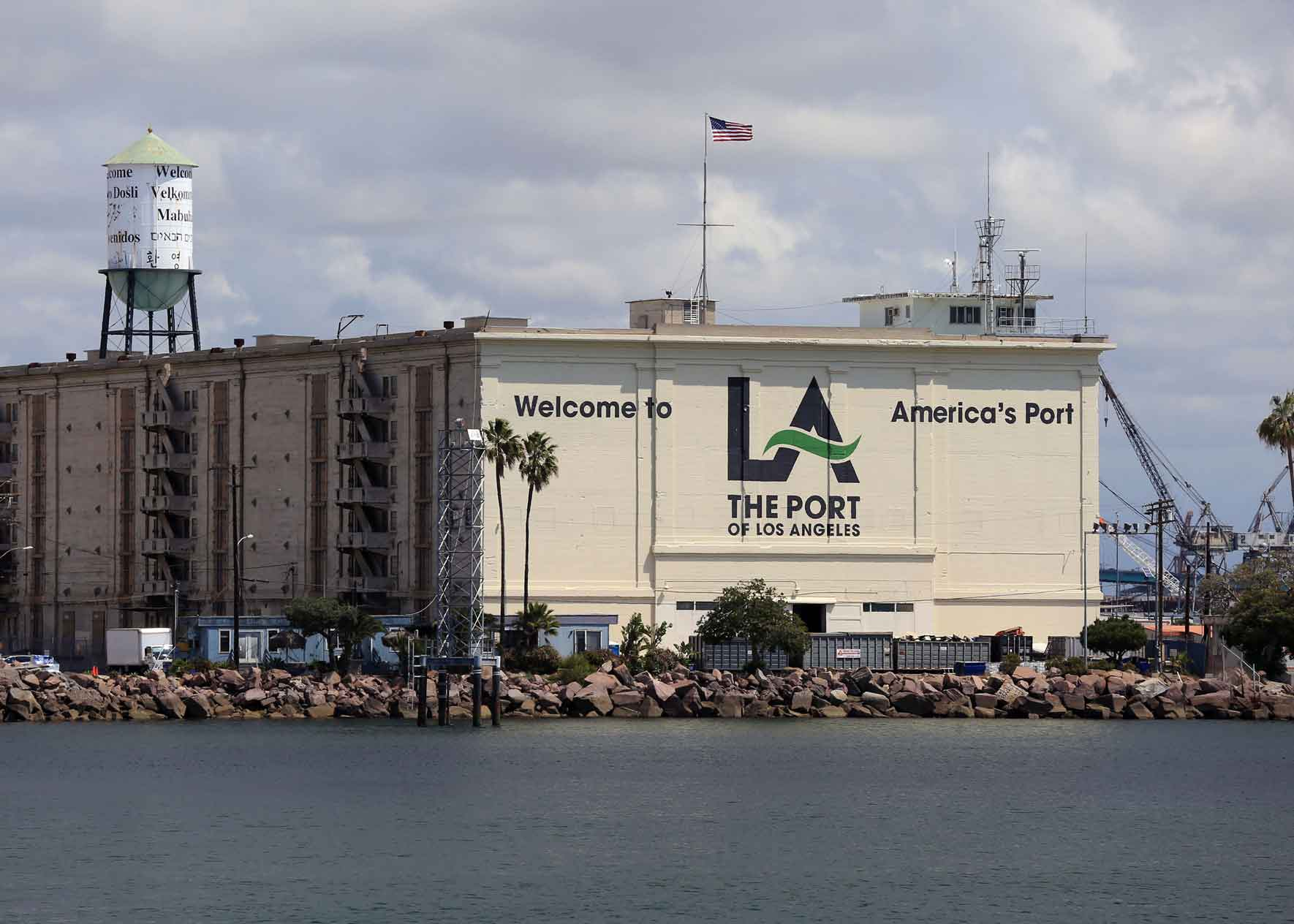 Historic Port Landmarks History Port Of Los Angeles