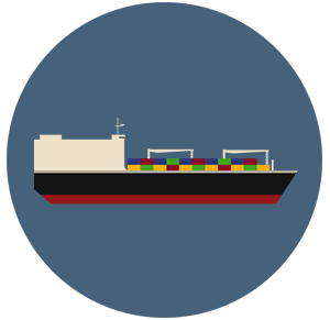 Breakbulk Ship Icon