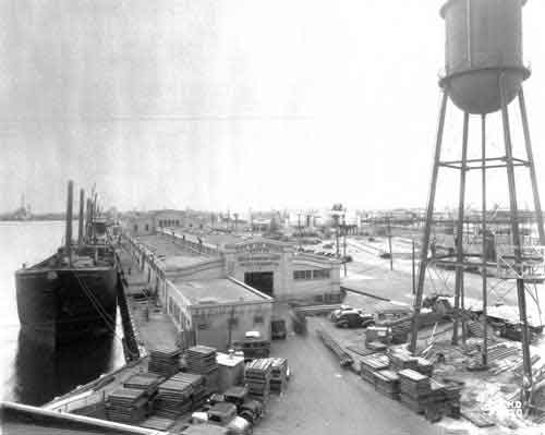 Historical Image of the Port of Los Angeles