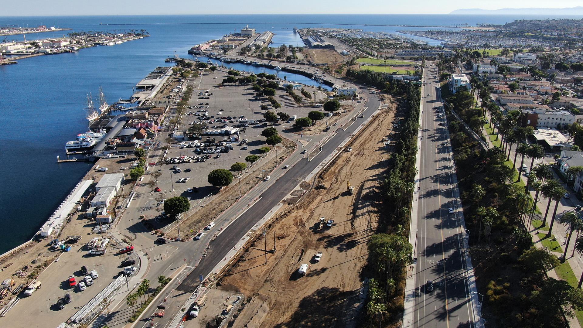 LA Waterfront Aerial