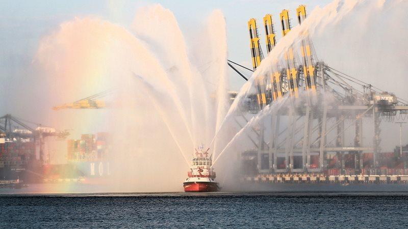 LAFD Fireboat