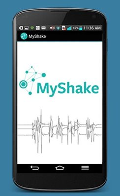 MyShake mobile image