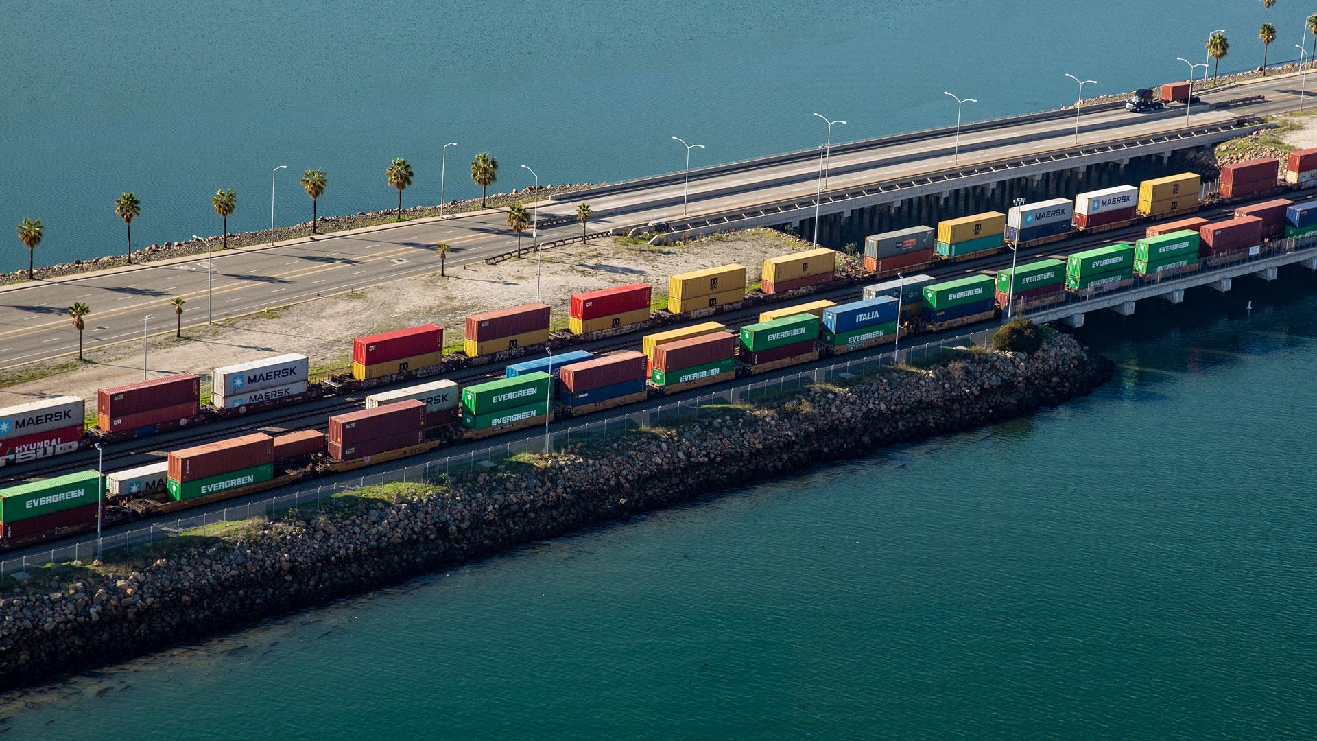 On-Dock Rail