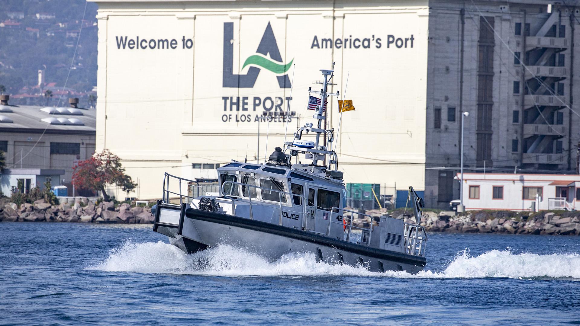 Port Police Patrol Boat